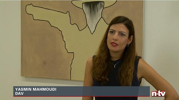 Yasmin Mahmoudi bei n-tv
